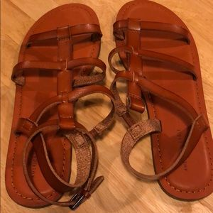 American Eagle sandals.